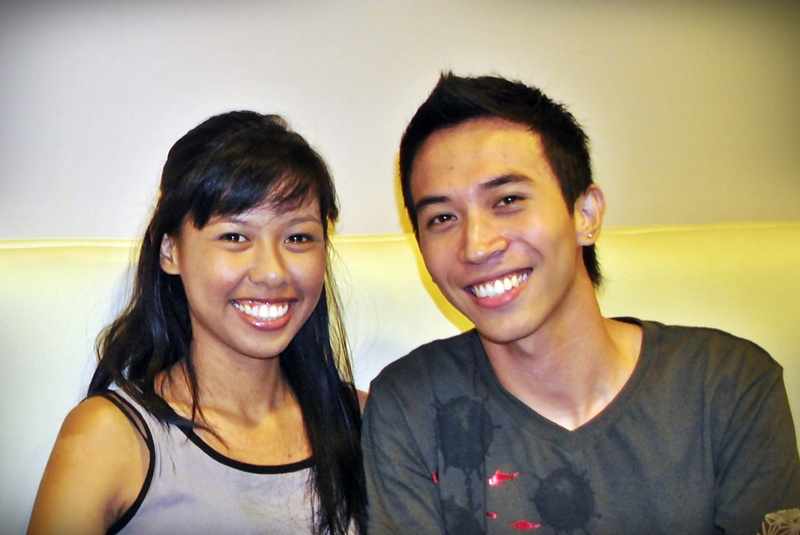 Jamie Susara and Jaypee David at Gratitude Philippines